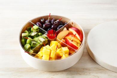 Box fruits découpés
