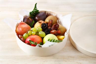 Corbeille de fruits frais