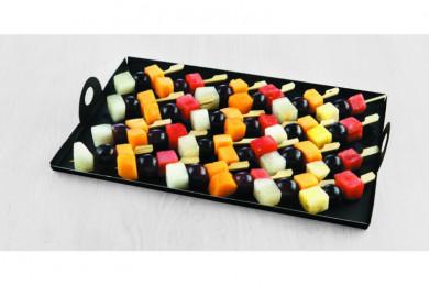 Brochettes de fruits frais...