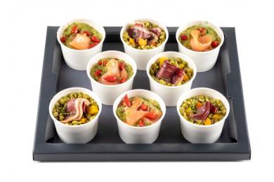 Plateau de salades - 8 pièces