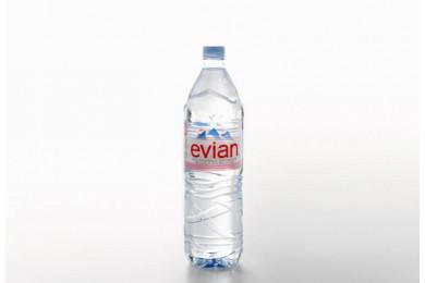 Eau plate Evian(150cL)